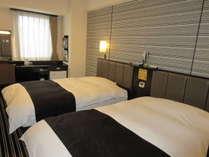 ツインルーム(広さ14~17平米/ベッド幅120cm×1台・140cm×1台)