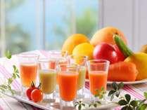 【洋朝食】リゾートの爽やかな朝にはホテルオリジナルお目覚めスムージーを。