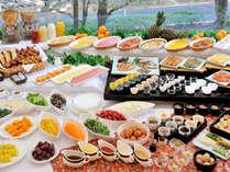 ≪朝食バイキング≫和食派、洋食派、どちらにもおすすめ!お好きなものをお召しあがりください。