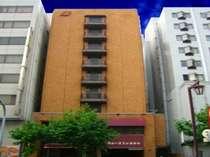 ホテル外観建物の色でスグにわかります!