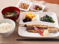 【朝食:和食】日本の朝食はやっぱり和食! ご飯にお味噌汁にお魚で健康的な1日を!