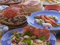 【夕食付き】寿司と海鮮贅沢蒸し釜や料理と露天風呂付客室堪能プラン