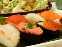 お寿司付きプラン、始めました♪