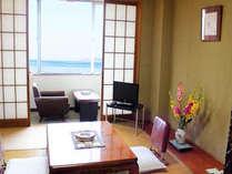 【海の見える和室】6畳間 有明海を眺めながら寛げます