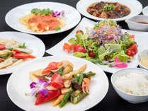 *ご夕食一例<中華ミールクーポン対応>当館内にある[レストラン龍淵]にて気軽に美味をご堪能ください。