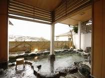*海が見える開放感一杯の露天風呂は湯河原の良質の温泉。貸切もOK!!(時間制限有)