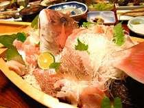 *新鮮な魚介類をご賞味ください