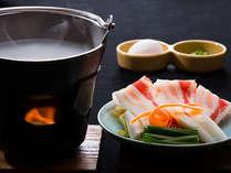 ☆【平日限定】4名以上で割引◆人気のおかゆしゃぶしゃぶと豊後牛(A-5ランク)+種鶏の陶板焼き
