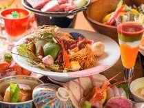 匠の技が冴え渡る御膳の数々・・・野蒜山荘では、料理長が真心込めておもてなし致します。