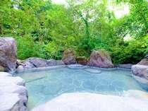 貸切湯3棟、内湯、露天のみ、といろいろな温泉が楽しめます。