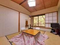 *和室4.5~6畳(客室一例)/ビジネスや一人旅にオススメ◎足を伸ばしてのんびりとお寛ぎ下さい。