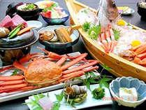 ★紅蟹とミニステーキと御造り(DX)プラン★
