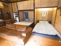 ダブルベッドとクイーンベッド