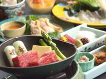 【春・スタンダード・和食会席「雅」】和牛陶板焼き・鯛しゃぶしゃぶなど堪能!!迷ったらコレ【ランクB】