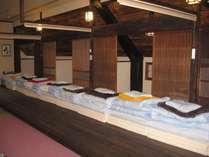 合宿時の宿泊例