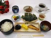 ■朝食「和定食」一例朝食は和食がお好みの方に!バラエティー豊かな朝食です。