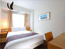 ≪ダブルルーム≫1台のベッドで2名様でご宿泊頂くお部屋でございます。