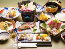 【山里の膳】天狗荘一番人気!山上で味わう四季の味をお楽しみください