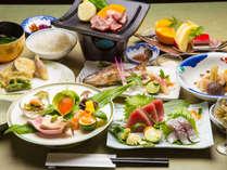【天狗の膳】地元の食材を堪能!天狗荘の名を冠した自慢のお食事をご満喫ください