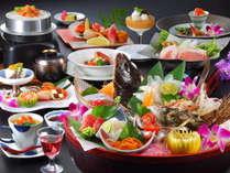 食して楽しみ、見て楽しむ!たてやまの魅力を料理で演出