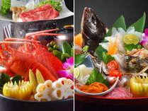 自社の漁船から届く海の宝物(房州イセエビと旬の鮮魚)