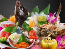 旬の鮮魚と彩りを楽しむ