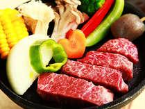 人気№1のプランの秘密は肉にあり!肉質が柔らかく脂のサシが上品な「信州黒毛和牛」を使用しています。