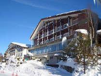 *冬場は当ホテルを拠点に、高原の雪をご堪能ください!