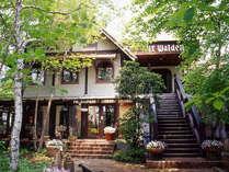 *【外観】「萌木の村」内にある大人の為の隠れ家ホテル。