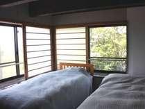 【bochi bochi】2F寝室上質なファブリックの寝室