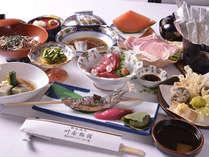 旬の食材を贅沢に味わえる『季節のコース料理』プラン