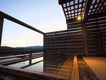 *【展望露天】胎内川を見下ろす絶景の展望露天風呂