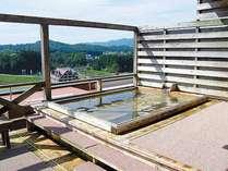 *【展望露天】日中の展望露天風呂からの眺めは高原リゾート気分に