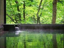 *【奥胎内ヒュッテ】温泉ではありませんが登山帰りのお客様に人気のお風呂