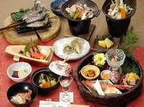 【料理】三国会席料理例(夕食)