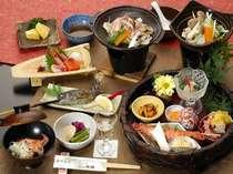 【夕食 浅貝会席】味にうるさい彼女・奥様も大満足!ウェスト館プラン定番の浅貝会席料理例
