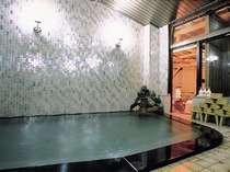 【お風呂】本陣の温泉大浴場(内湯)