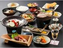 スタンダード【三国会席】新潟のうまさぎっしり!もちろんお米は魚沼コシヒカリ♪
