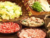 お肉も具材も食べ放題!選べる4種のあったか鍋+新潟の美味をお腹いっぱい召し上がれ♪