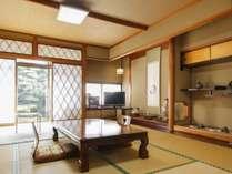 お庭の眺めの良い12畳客室
