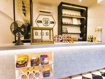 ROUTE38CAFEコーヒー、アルコール、ソフトドリンク、ハンバーガーやおつまみ、お菓子が揃ってます!