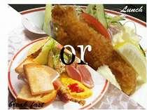 【ブランチプラン】朝食orランチどちらかお好きな方をお選びいただけます!チェックアウトは12:00までOK♪