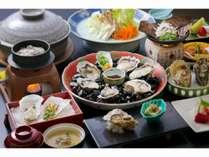 牡蠣づくし会席イメージ(牡蠣鍋は2人前)