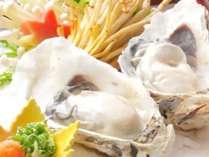 期間限定の牡蠣尽くしプランをご堪能下さい♪お料理イメージ