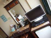 全室、20インチ薄型テレビ!全室、インターネット接続可能室です。
