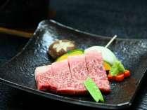 牛のステーキ