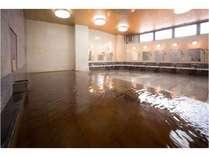 【福の湯】茶褐色の天然温泉