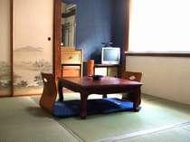 御人数やプランに応じて各種のお部屋をご用意しております。(和室例)