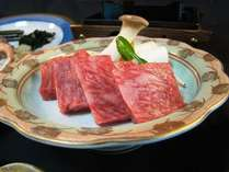 地元蔵王出身の料理長が厳選した山形牛カットステーキ