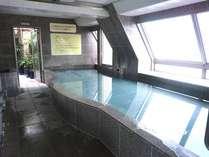 10階の男性用大浴場(奥道後温泉引き湯の大浴場)